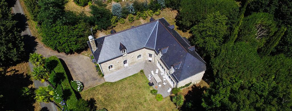 Maison à Louer en Bretagne sur les rives de l'Odet